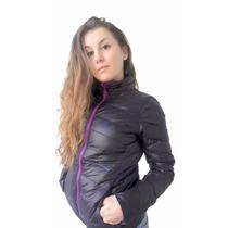 Campera Nikko De Pluma Reversible Mujer / Hombre
