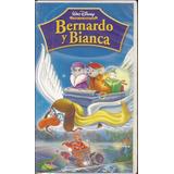 Bernardo Y Bianca De Walt Disney En Vhs Original