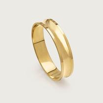 Aliança De Noivado Ou Casamento Em Ouro 18k ( 750 ).