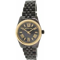 Michael Kors Reloj Mujer Acabado Ceramica Negra Mk3299
