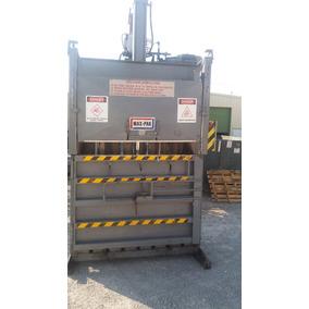 Prensa Compactadora Vertical 10 Hp Pet, Carton, Reciclado.
