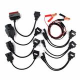 Set De Conectores De Auto P/ Escaner Autocom Y Compatibles