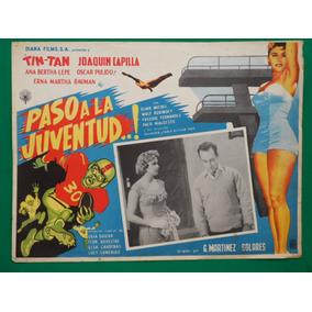 Tin Tan Paso A La Juventud Ana Bertha Lepe Cartel De Cine