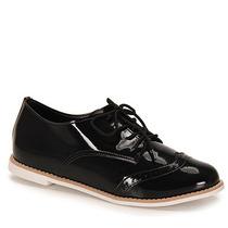 Sapato Oxford Feminino Dariely - Preto