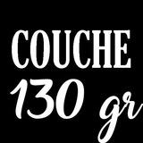 Papel Couchè Brillante 130 Gr. Resma 100 Hojas Tamaño Carta