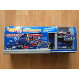 Hot Wheels Nascar Mechanix Trailer Y Auto Kyle Petty 44