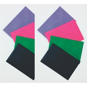 Micro Envelope Colorido - 3,4 X 4 Cm