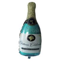 Globo Metalico Botella Champagne 34cm 3 Piezas