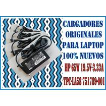 Cargador Original Hp All In One19.5v 3.33a 65w Ac 100% Nuevo