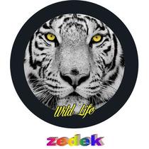 Capa Roda Estepe Pajero Tr4 Rav4 - Tigre Wild Life Selvagem