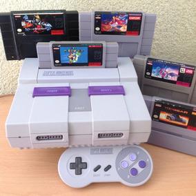 Fabulosa Super Nintendo Snes Consola Mario Clasicos