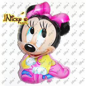 Paquete De 11 Globos Minnie Mouse Bebe Decora Tu Evento