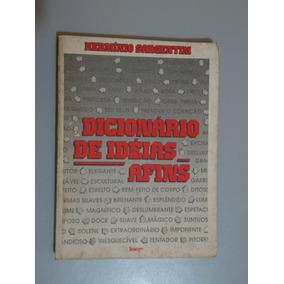 Livro Dicionário De Idéias Afins - Hermínio Sargentim