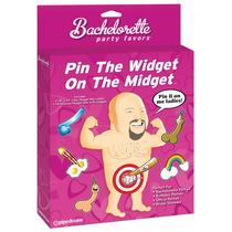 Juego Para Despedida De Soltera Pin The Widget On The Midget