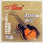 Set De 8 Cuerdas Para Mandolina Alice Modelo Am03