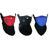 Mascara Protectora De Neopreno Y Polar - Moto Bicicleta