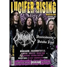 Revista Lucifer Rising Nº 10 Grátis Cd