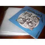 100 Capas Plástico Externo Lp Disco Vinil 32x32x0,06 - Fino