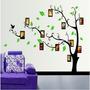 Sticker Vinil Decorativo De Pared Para El Hogar Marcos Árbol