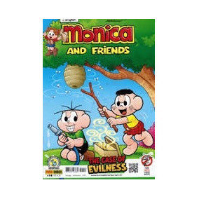 Gibis Monica Ingles Gang E Friends Diversos Alfabetizaçao