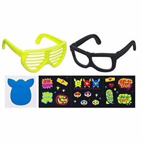 Furby Oculos Frames (amarelo E Preto)