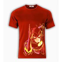 Playera O Camiseta Electro Flash Cuerpo Rayo Lu 100% Algodon