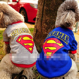 Ropa Ligera Blusa Playera S - M - L - X L Perro Superman E4f