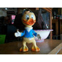 Antiguo Muñeco De Goma Louie Sobrino Del Pato Donald Disney