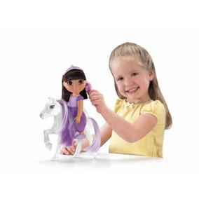 Dora Con Pony La Exploradora Aventura Magica Caballo