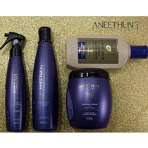 Kit Aneethun Linha A (shampoo+máscara+spray+leave-in )