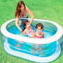 Pileta Pelotero Inflable Oval Decorada Intex