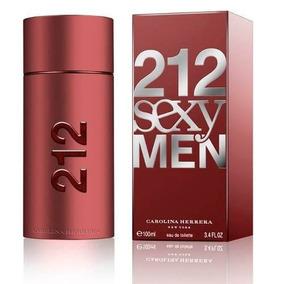 Perfume 212 Sexy Men Carolina Herrera 100 Ml Selladooriginal