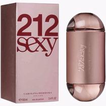 Perfume Carolina Herrera 212 Sexy 100ml Feminino Original