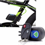 Alarma Bicicleta Cicla + Control Remoto Sirena Tipo Carro Gw