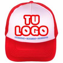Gorra Cap Trucker Estampada Personalizada Publicitaria