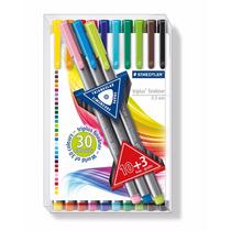 Staedtler Marc.triplus 334 Microfibras Color 10+3past (7272)