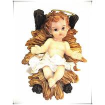 Niño Jesus De Resina 9.5x7.5x7.5cm