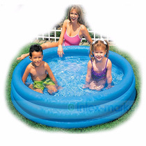 Piscina Inflable 3 Aros Azul Niños Intex 147cm X 33cm 58426