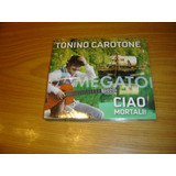 Tonino Carotone Ciao Mortali Cd Argentina Nuevo Manu Chao