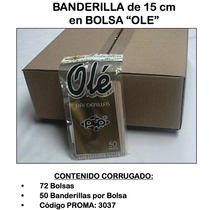 Banderilla Madera 15 Cm 72/50