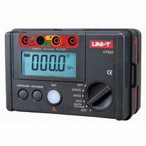 Medidor De Resistencia De Tierra 0-4000 Ohms Modelo: Ut-522