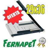 Oferta !!! Guillotina 29x36cm Corta Papel,80213 / Fernapet