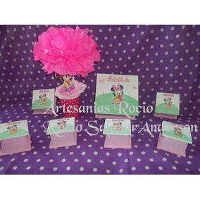 Souvenirs 1 Añito,minnie Y Mickey Bebes Cajitas,cajas