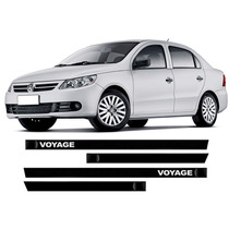 Friso Lateral Preto Personalizado Voyage G5 G6