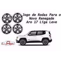 Jogo De Rodas Novo Jeep Renegade Aro 17 Liga Leve