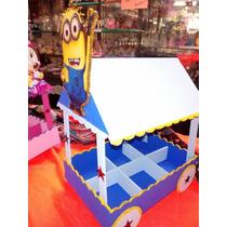 Kiosco Golosinero Con Personaje Hermoso Para Candy Bar