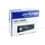 Autoestereo Alpine Cde-164 Ebt Usb Cd Iphone Bt Control