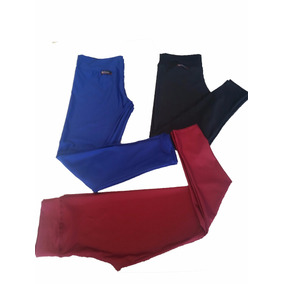 03 Calça Leg Suplex Legging Pluz Size Fitness/ Academia