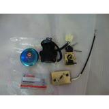 Kit Llave De Contacto Y Tanque Motomel Custom 200