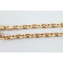 Cordão Modelo Cartier (oco) Com 17 Gramas De Ouro 18k
